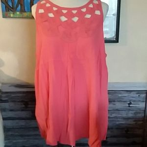 Maurices coral top
